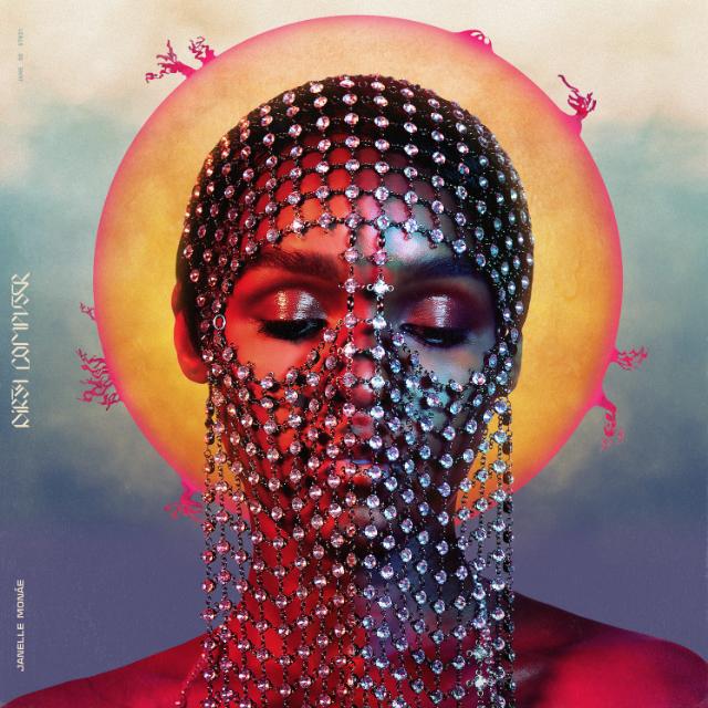 Capa do álbum Dirty Computer, de Janelle Monáe