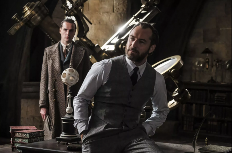 Jude Law como Dumbledore