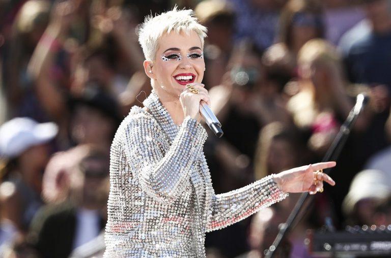 Katy Perry numa performance