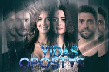 As protagonistas, Joana Santos e Sara Matos. vidas opostas