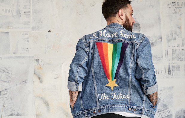 Casaco de ganga da Levi's da Pride Collection 2018.