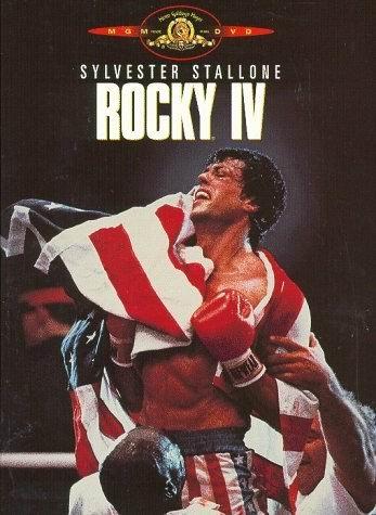 Poster de filme Rocky IV, 1986.