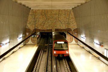 Metro Lisboa Santos Populares