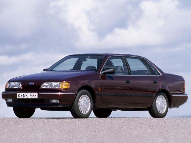 Ford Scorpio, o carro do ano em 1986.