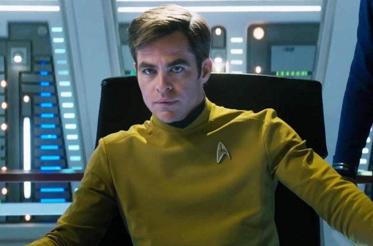 Chris Pine em Star Trek 4