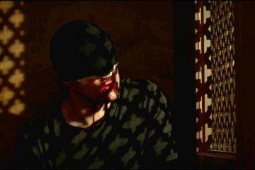 Matt Murdock num confessionário
