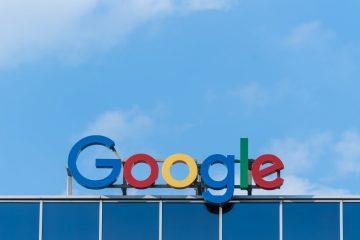 Letreiro Google