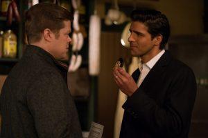 Foggy Nelson (Elden Hanson) e Ray Nadeem (Jay Ali) em Daredevil Temporada 3