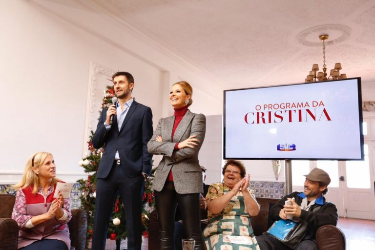 Cristina Ferreira Daniel Oliveira SIC