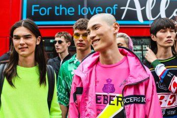 iceberg london fashion week homem