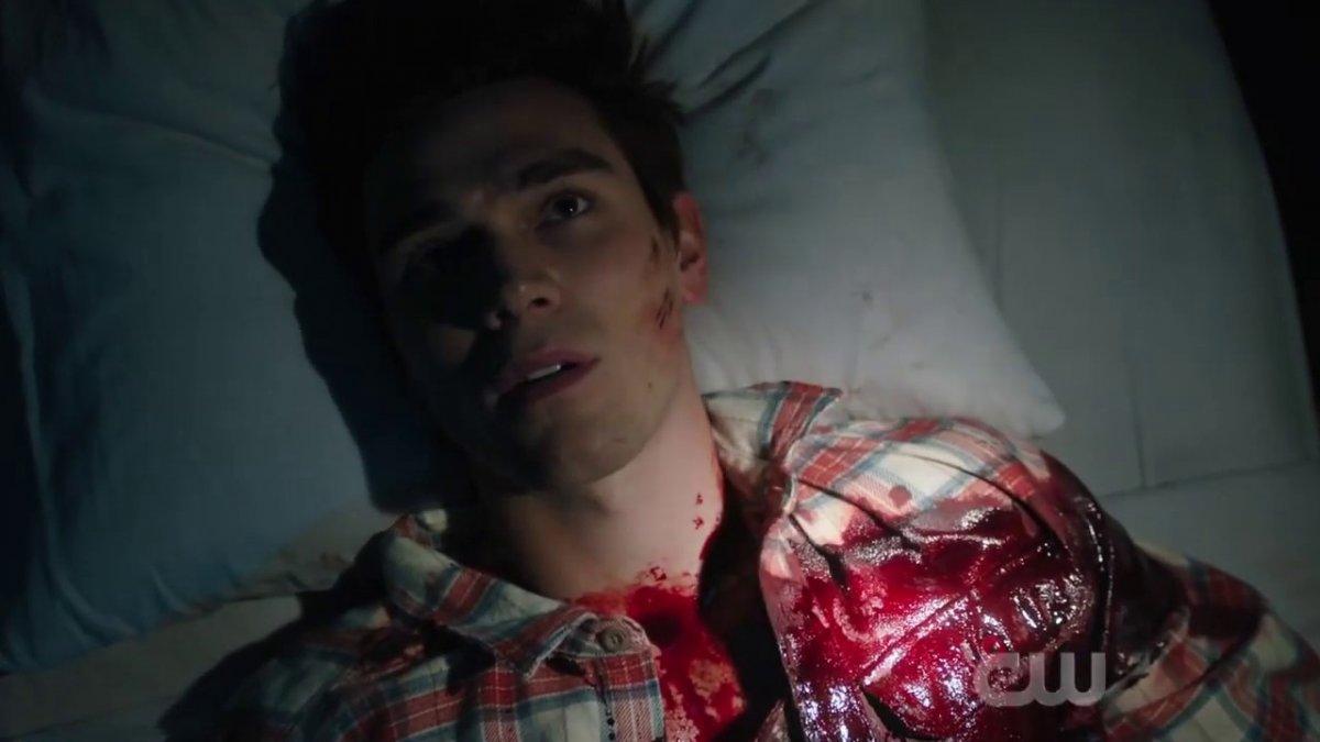 Archie sangue morto Riverdale