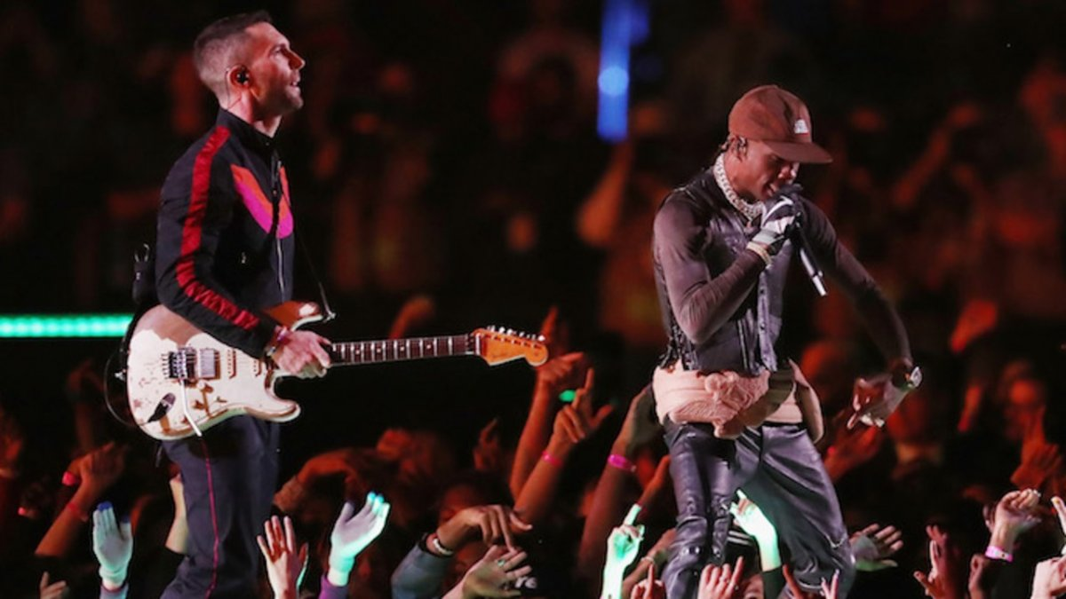 Super Bowl Maroon 5