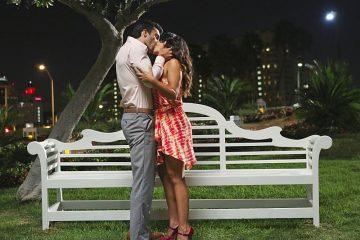 Rafael e Jane a dar o seu primeiro beijo no episódio 6 da temporada 1