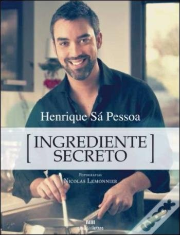 """Livro """"Ingrediente Secreto"""""""