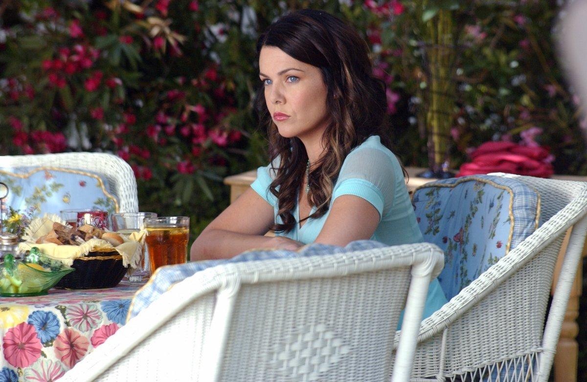 Lauren Graham como Lorelai Gilmore em Gilmore Girls