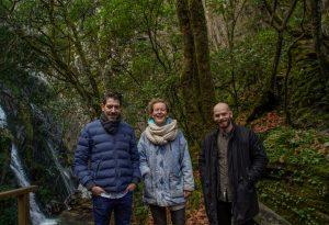 Rodrigo Oliveira, Lynn Mylou e Tiago Cerveira equipa do Wildlings