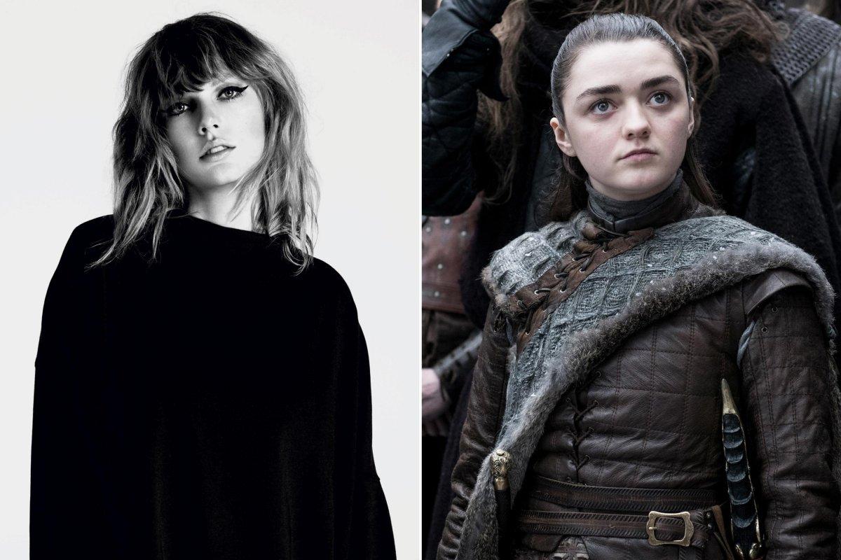 Taylor Swift / Arya Stark