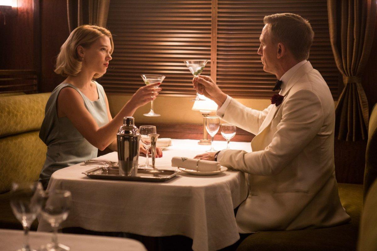 James Bond e Madeline em Spectre