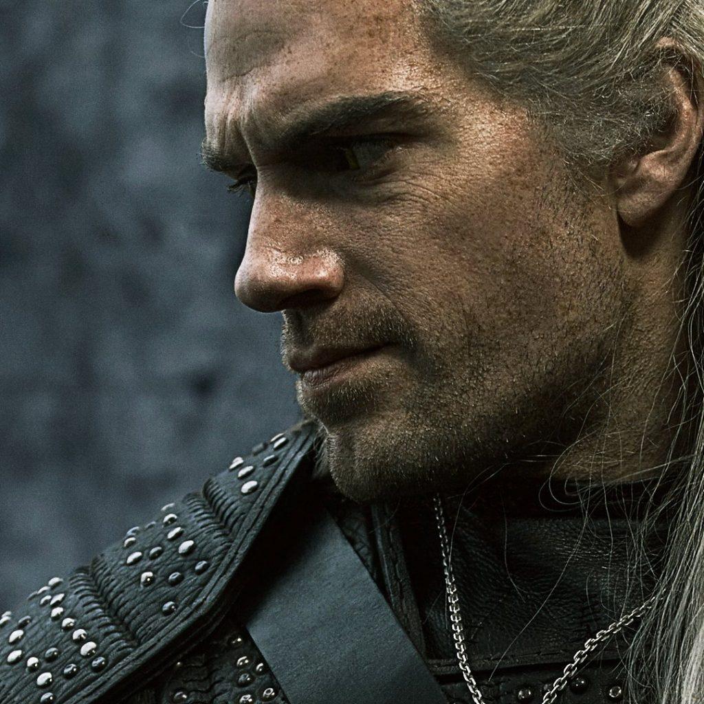 Henry Cavill como Geralt of Rivia em The Witcher da Netflix