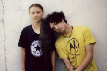 Greta Thunberg e Matty Healy (The 1975)