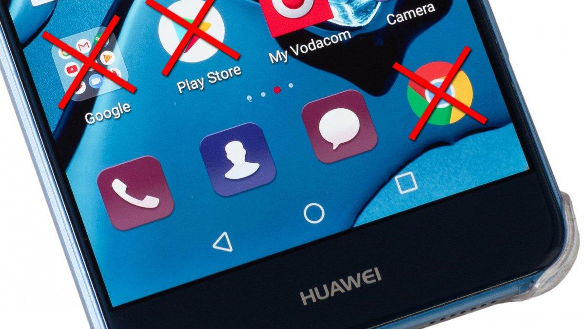 Smartphone Huawei sem acesso a aplicações Google
