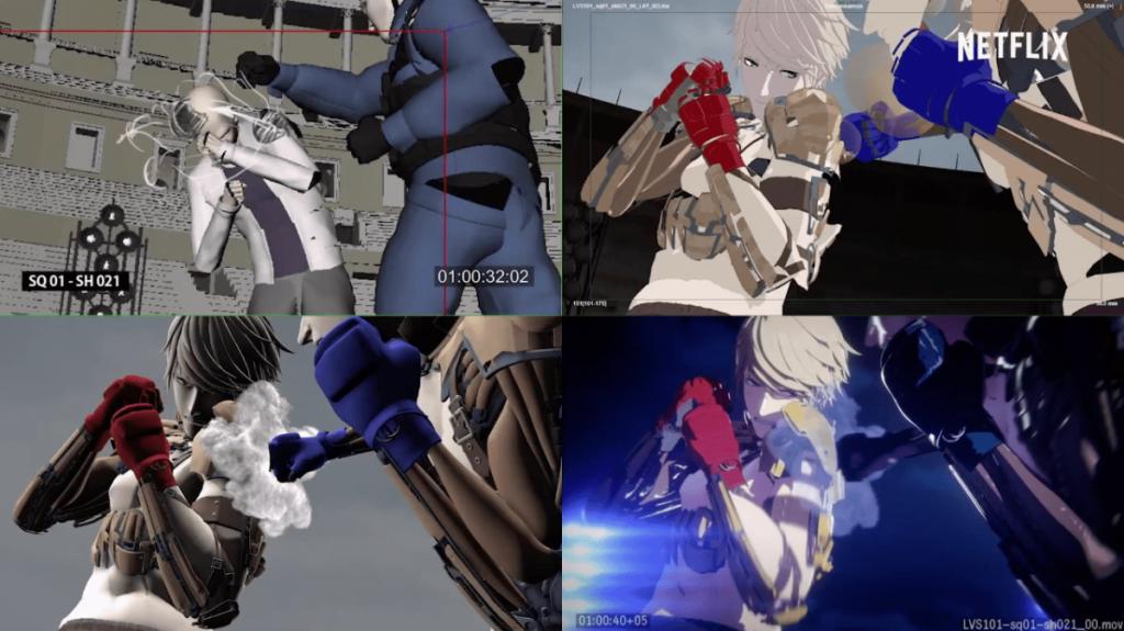 Behind-The-Scenes em Enter The Anime, da Netflix