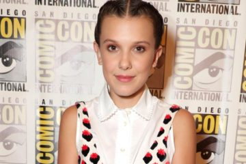 Millie Bobby Brown na Comic Con em San Diego 2017