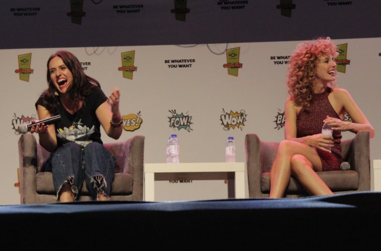 Itziar Ituño e Esther Acebo na Comic Con Portugal 2019
