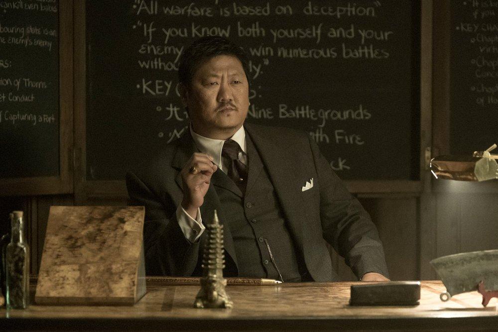 Benedict Wong em Deadly Class