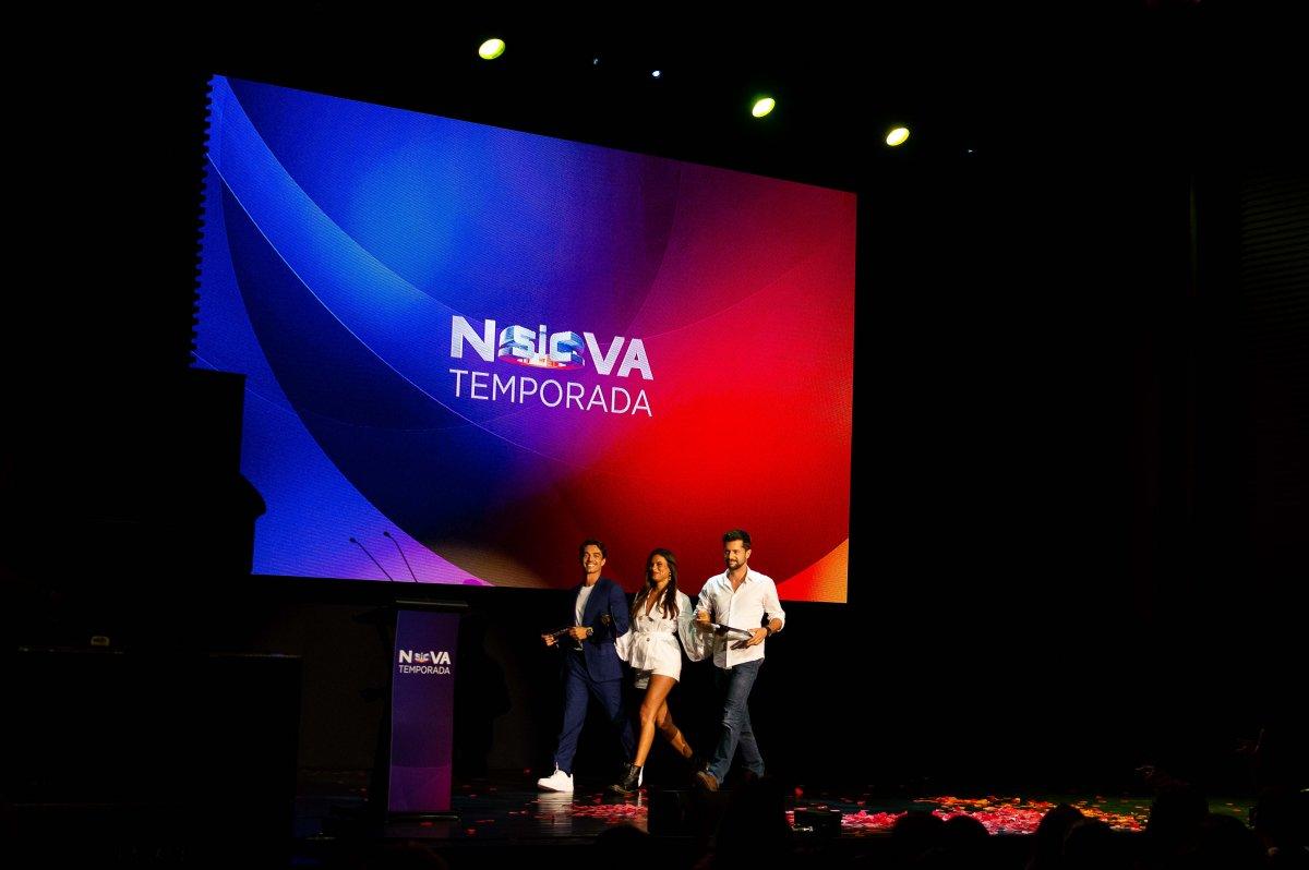 Afonso Pimentel, Carolina Loureiro e José Mata - Nazaré
