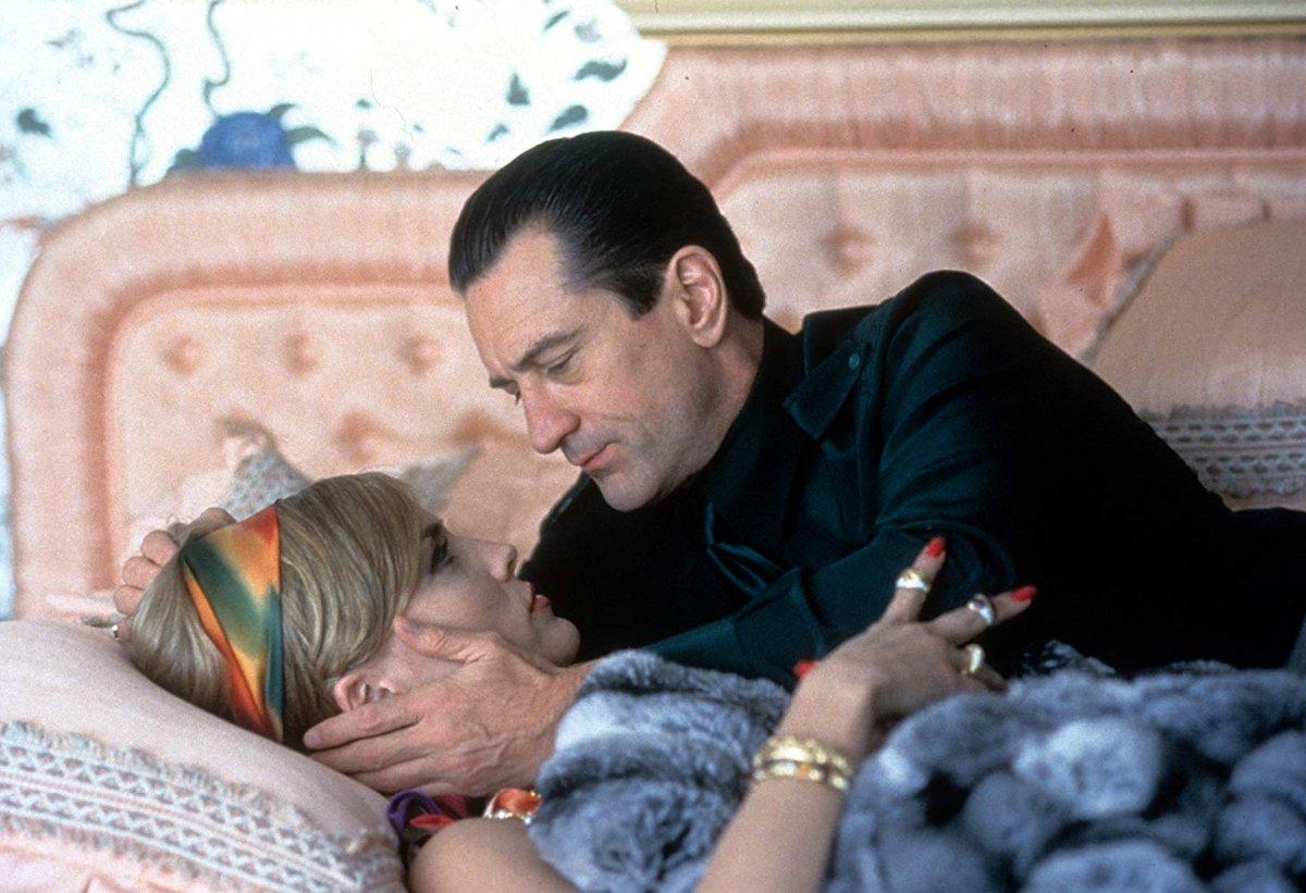 Robert De Niro e Sharon Stone em Casino