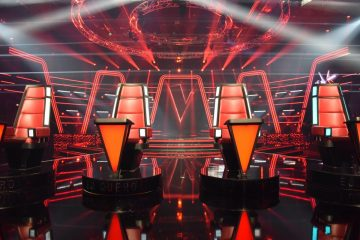 Cenário The Voice temporada 7