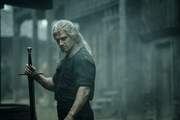 Geralt of Rivia (Henry Cavill) em The Witcher da Netflix