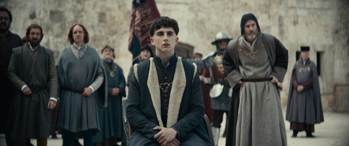 The King - Timothée Chalamet / Henry V