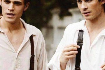 Irmãos Salvatore / Paul Wesley e Ian Somerhalder