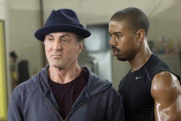 Silvester Stalone e Michael B. Jordan em Creed