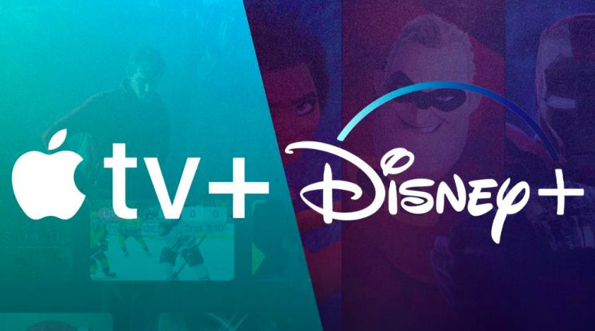 Disney+ e Apple TV+