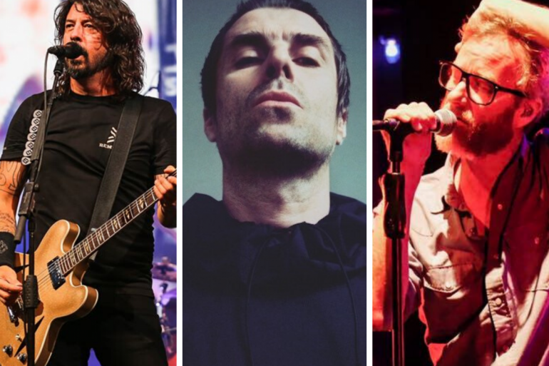 Foo Fighters, The National e Liam Gallagher