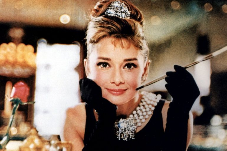 Audrey Hepburn em Breakfast at Tiffany's