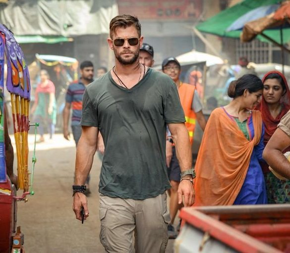 Chris Hemsworth em Tyler Rake