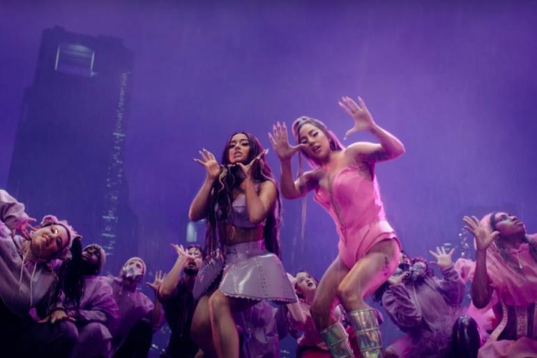 Videoclipe de Rain On Me com Lady Gaga e Ariana Grande