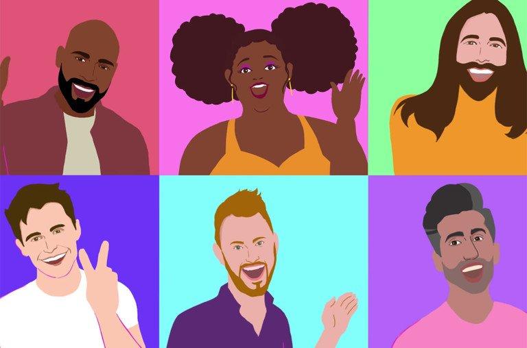 Lizzo e Queer Eye no videoclipe de Soulmate