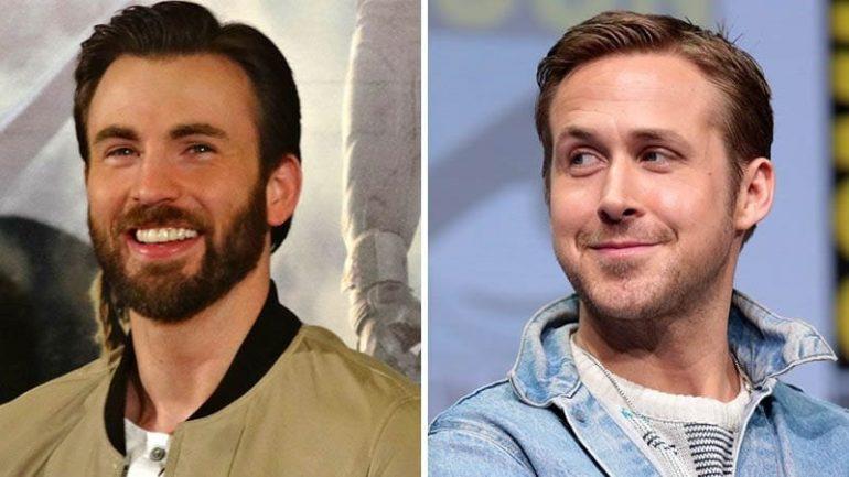 Ryan Gosling e Chris Evans vão contracenar juntos no filme mais caro da Netflix.