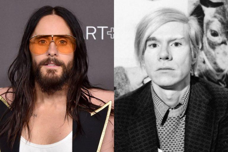 Jared Leto e Andy Warhol