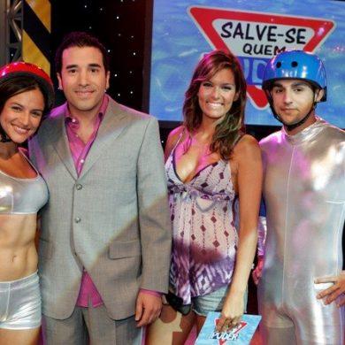 Marco Horácio e Diana Chaves no programa de Verão da SIC Salve-se Quem Puder