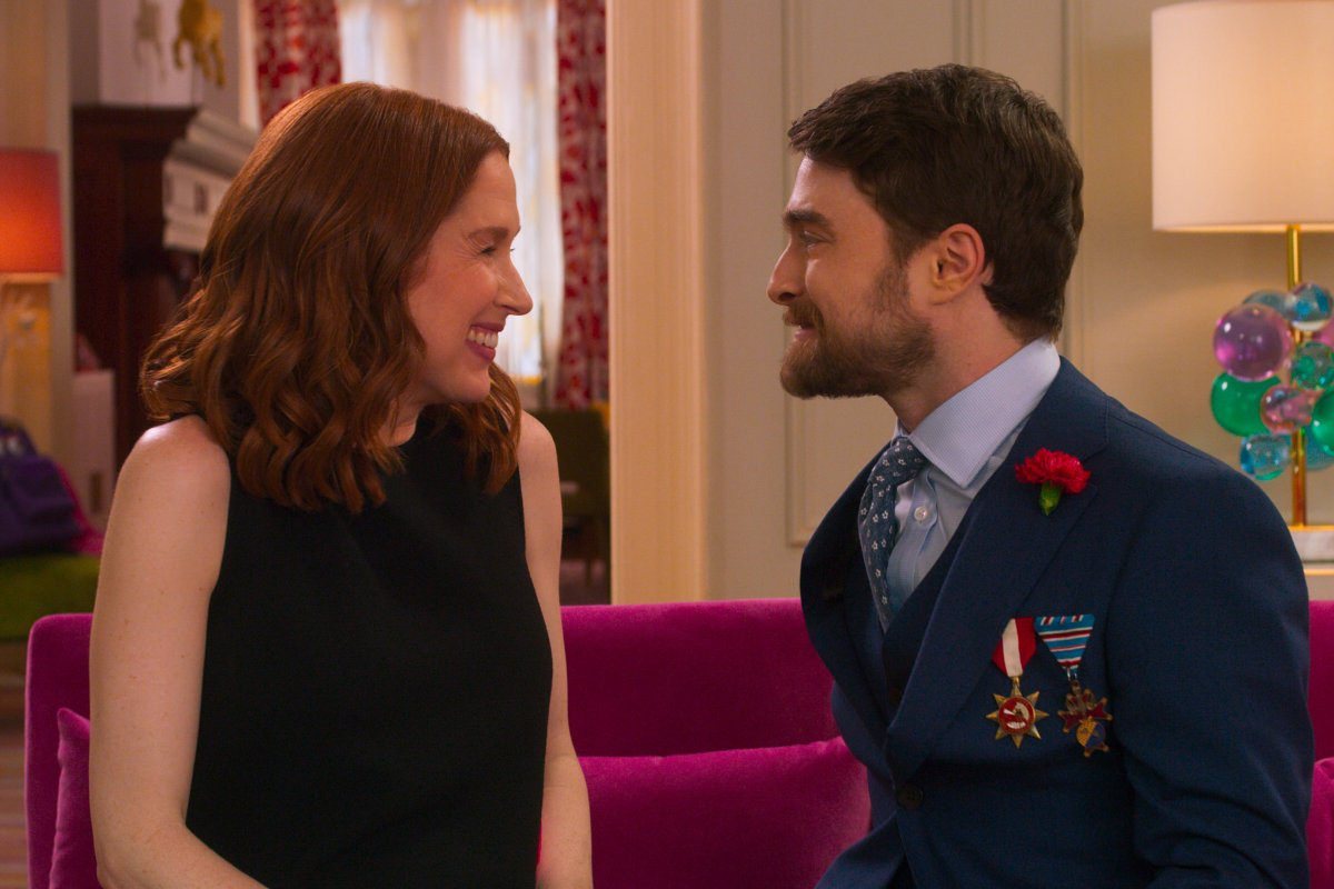 Daniel Radcliffe é Frederick em unbreakable kimmy schmidt
