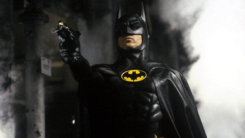 Michael Keaton interpretou Batman nos dois filmes lançados por Tim Burton.