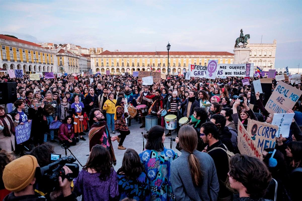 greve feminista, 8 de março, feminismo