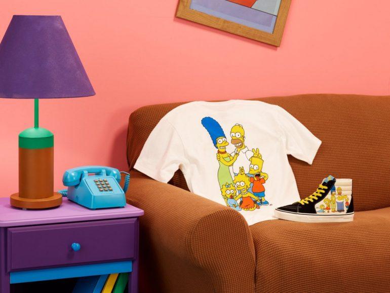 Vans lança coleção inspirada em The Simpsons