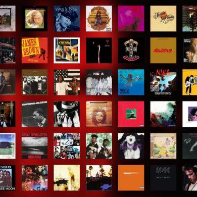 Rolling Stone 150 melhores álbuns